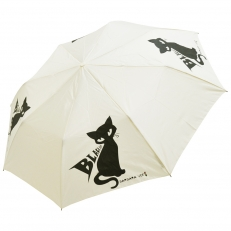 """Белый женский зонт """"Black Cat"""""""