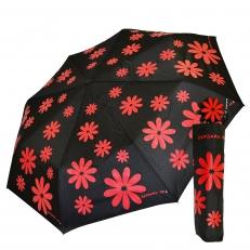 """Женский зонт """"Красные ромашки"""""""