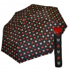 """Женский зонт """"Heart"""" красное сердце"""