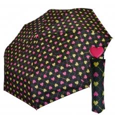 "Женский зонт ""Heart"" розовое сердце"