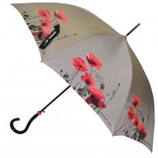Зонт-трость BV-PP110 серый