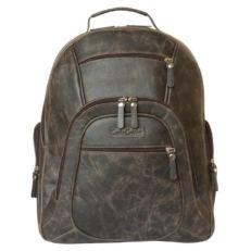 Повседневный кожаный рюкзак Жерардо коричневый фото-2