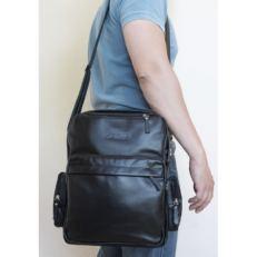 Сумка-рюкзак Рено черная фото-2