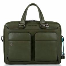 Сумка для ноутбука Piquadro CA2849B3/VE зеленая