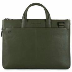 Сумка для ноутбука Piquadro CA4021B3/VE зеленая