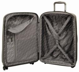 Легкий чемодан 808 28PC brown фото-2