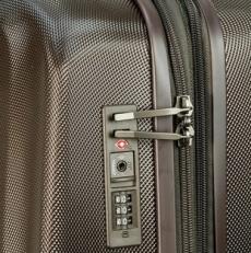 Коричневый чемодан 808 20PC фото-2