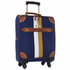 Чемодан текстильный 28756-03 blue