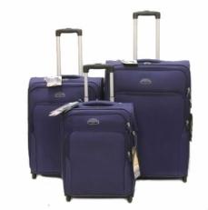 Комплект чемоданов GM241T серый фото-2