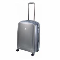 Серый чемодан 082 24PC