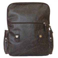 Городкой кожаный рюкзак Сантерно коричневый фото-2