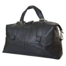 Кожаная дорожная сумка Арденно черная