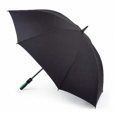 Мужской зонт-гольфер, черный, механика, Cyclone