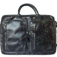 Сумка-рюкзак мужская Ферроне черная фото-2