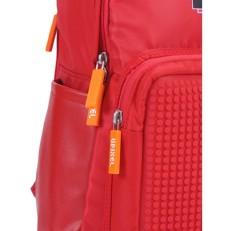 Красный пиксельный рюкзак Girl Power BY-GB010 фото-2