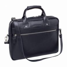 Деловая сумка Bartley Black мужская