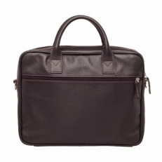 Деловая сумка Baxter Brown кожаная фото-2