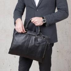 Деловая сумка-папка Brook Black фото-2