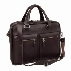 Кожаная деловая сумка Colston Brown