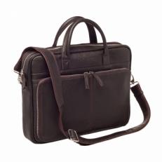 Мужская деловая сумка Elberton Brown