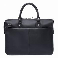 Деловая сумка Halston Black мужская фото-2