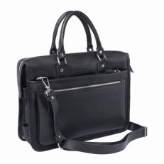 Деловая сумка Halston Black мужская
