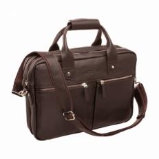 Кожаная деловая сумка Kelston Brown