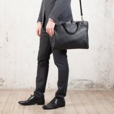 Деловая сумка Albert Black мужская фото-2