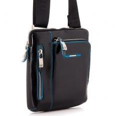 Кожаная сумка Dor. Flinger 3481 черная