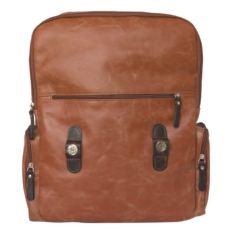 Кожаный рюкзак Сантерно рыжий