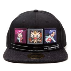 Бейсболка Pokemon Team Rocket Snapback
