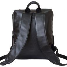Кожаный рюкзак Сантерно черный фото-2