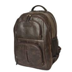 Мужской деловой рюкзак Ривароло коричневый