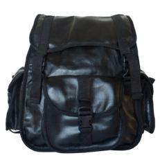 Кожаный рюкзак Альпрато черный фото-2