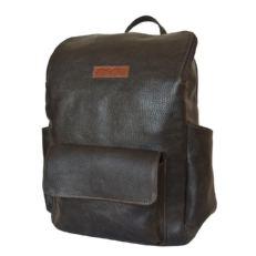 Стильный мужской рюкзак Тиваро коричневый