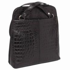 Женский рюкзак-трансформер Eden Black Caiman