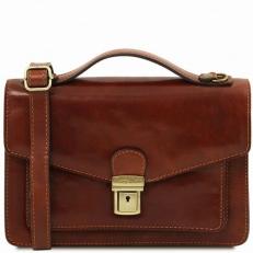 Eric Кожаная сумка через плечо