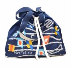 Пляжная сумка  10472-BE синяя