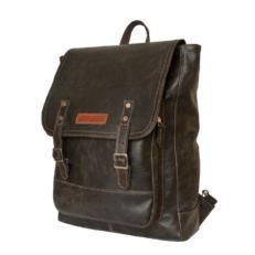 Кожаный мужской рюкзак Монтальфано коричневый