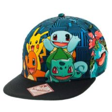 Бейсболка детская Pokemon Charmander and Friends Snapback