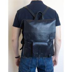 Тонкий мужской рюкзак Арма темно- синий фото-2