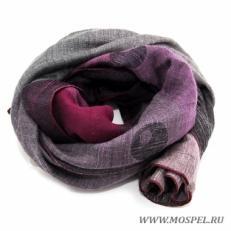 Палантин 5200172 пурпурный