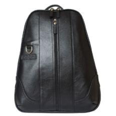 Кожаный рюкзак Раццоло черный фото-2