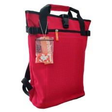 Рюкзак пиксельный красного цвета BY-NB018