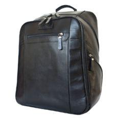 Черный мужской рюкзак из кожи Коссира
