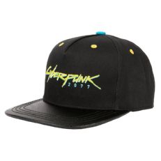 Черная бейсболка Cyberpunk 2077 Logo