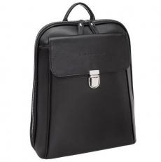 Женский кожаный рюкзак Frayne Black