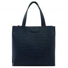 Женская сумка из синей кожи 2019831B