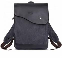 """Текстильный рюкзак """"Финикс"""" черный"""