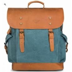"""Тканевый рюкзак """"Гонконг"""" голубой"""